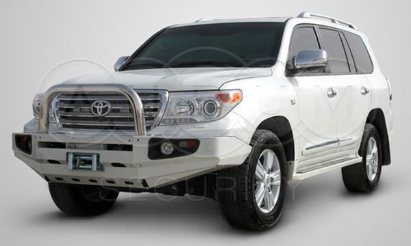Highest protection available on armored civilian vehicles - Toyota Land Cruiser 200 / VR10.